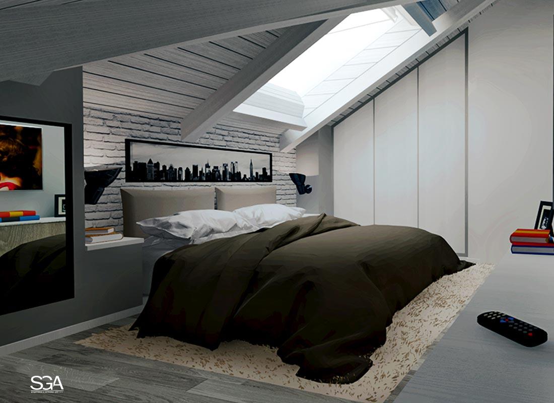 Camera da letto Villa Acquamarina SGA Srl