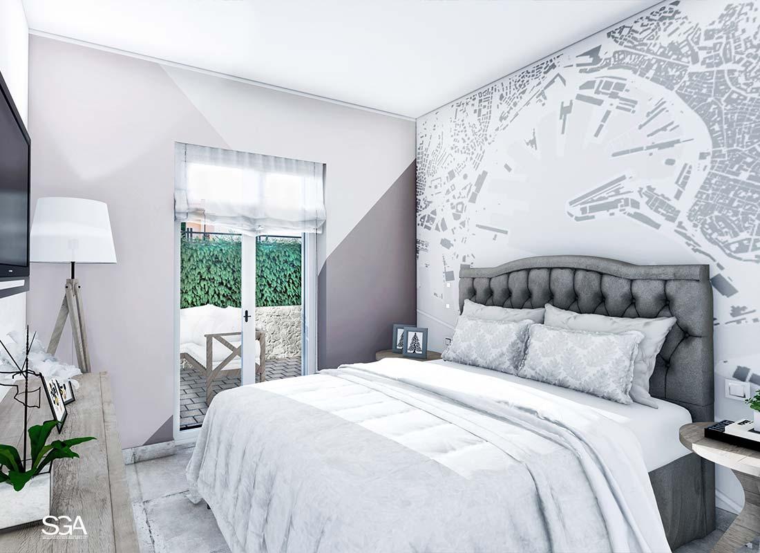 Camera da letto Villa Genovese SGA Srl