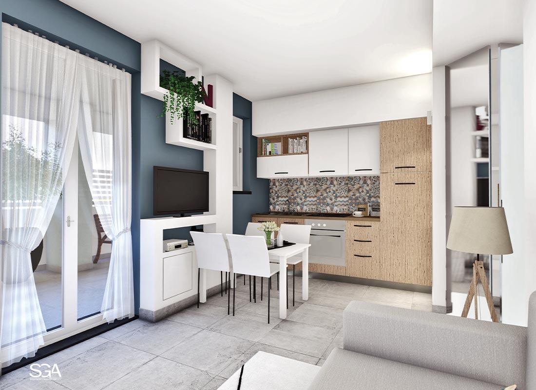 Cucina Villa Acquamarina SGA Srl
