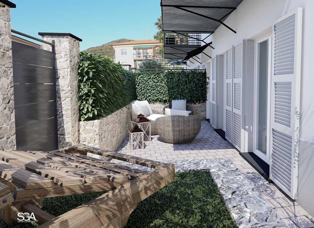Giardino Villa Genovese SGA Srl