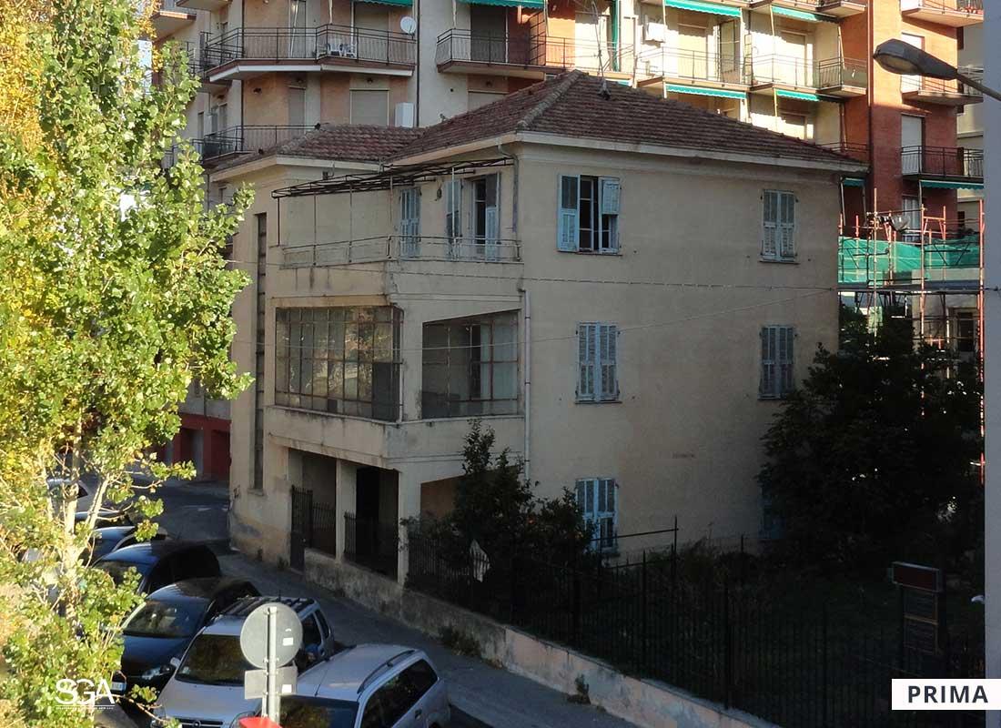 Immobile da risanare Villa Acquamarina SGA Srl