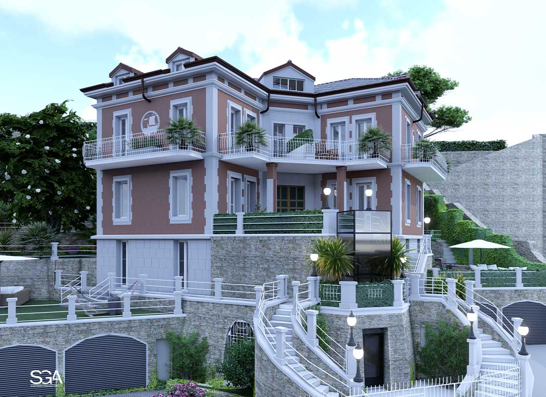 Immobile Villa dei Marmi SGA Srl