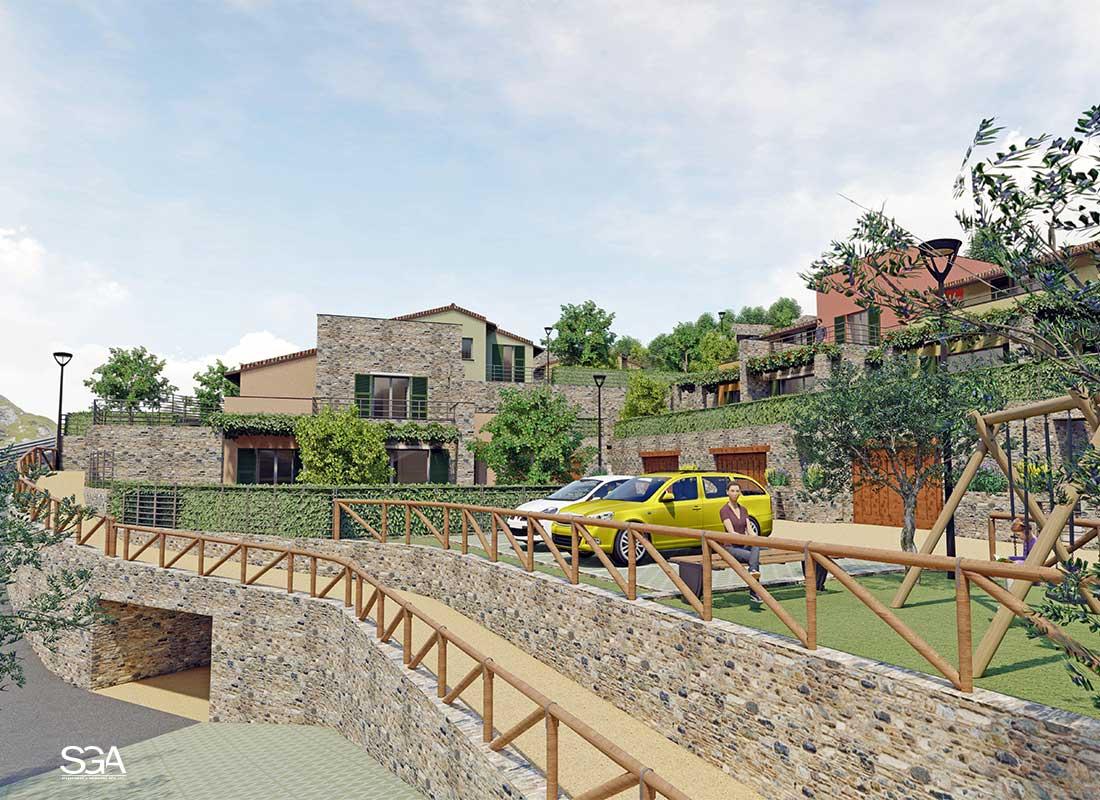 Parcheggi Complesso Residenziale Gorra SGA Srl