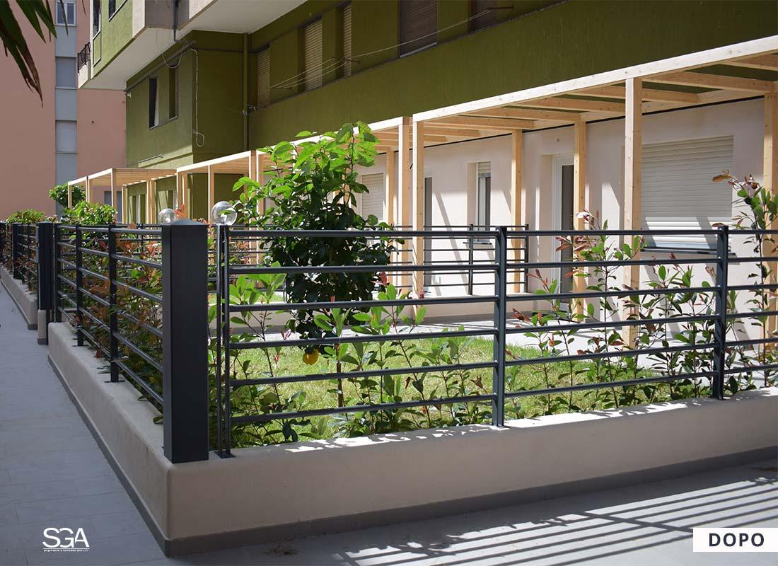 Ristrutturazione immobile Giardini Vittoria SGA Srl