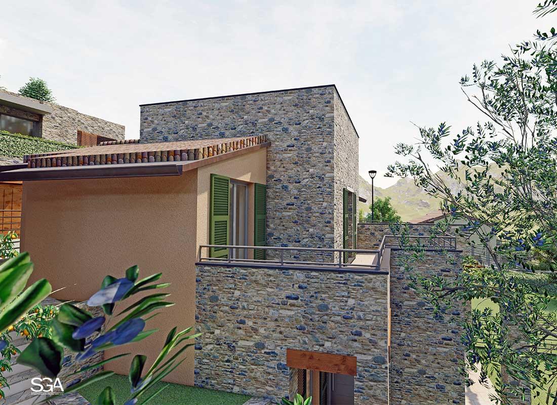Terrazza Complesso Residenziale Gorra SGA Srl
