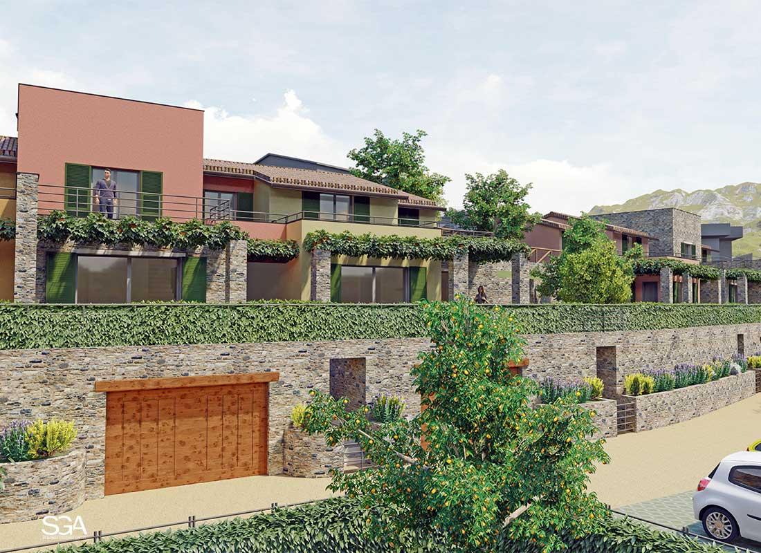 Terrazzi Complesso Residenziale Gorra SGA Srl
