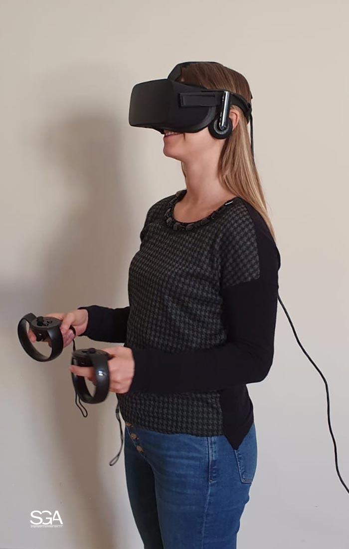 Visualizzazione immobile con virtual tour SGA Srl