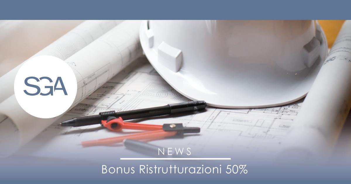 Bonus ristrutturazione casa del 50%: